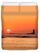 Sunrise At Odiorne Point 1 Duvet Cover