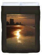 Sunrise At The Beach Duvet Cover