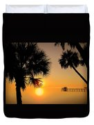 Sunrise At The Space Coast Fl Duvet Cover