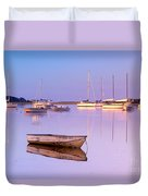 Sunrise At West Bay Osterville Cape Cod Duvet Cover