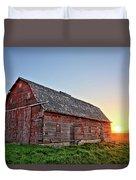 Sunrise Barn Duvet Cover