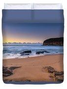 Sunrise By The Seaside Duvet Cover