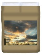 Sunrise Cloudscape Duvet Cover