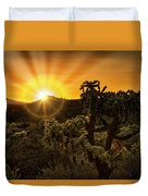Sunrise Done With An Arizona Flare Duvet Cover