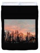 Sunrise Fire  Duvet Cover