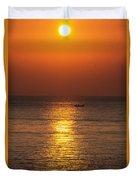 Sunrise Fishing Duvet Cover
