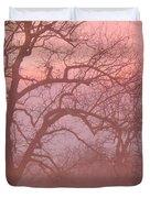 Sunrise Fog Duvet Cover