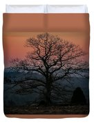 Sunrise From Bolton Ma Duvet Cover