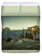 Sunrise Glacier Point Duvet Cover