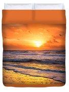 Sunrise Gulf Shores Alabama Beach Duvet Cover