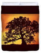 Sunrise Gum Duvet Cover