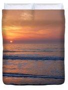 Sunrise Huntington Island State Park Duvet Cover