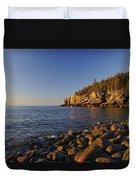 Sunrise In Acadia Duvet Cover