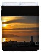 Sunrise In Da Nang Duvet Cover