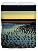 Sunrise In Gold Duvet Cover