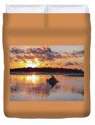 Sunrise In Murrells Inlet, Sc Duvet Cover