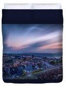 Sunrise In St Ives In Cornwall Duvet Cover