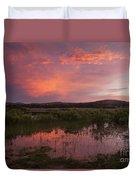 Sunrise In The Wichita Mountains Duvet Cover