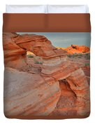 Sunrise In Valley Of Fire State Park Duvet Cover
