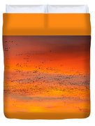 Sunrise Migration Duvet Cover