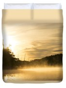 Sunrise Of Fire Duvet Cover