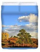 Sunrise On County Road 58 Duvet Cover