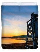 Sunrise On Eighth Lake 1 Duvet Cover