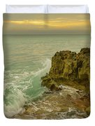 Sunrise On Hutchinson Island Florida Duvet Cover