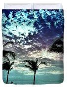 Sunrise On Miami Beach Duvet Cover