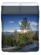 Sunrise On Sentinel Dome Duvet Cover