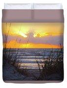 Sunrise On The Atlantic Duvet Cover