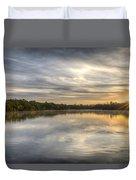 Sunrise On The Flats Duvet Cover
