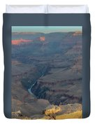 Sunrise On The Grand Canyon Duvet Cover