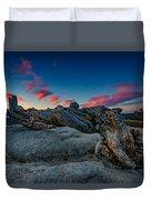 Sunrise On The Jeffrey Pine Duvet Cover