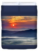 Sunrise On The Parkway. Duvet Cover