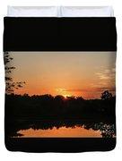 Sunrise Over E Bay Duvet Cover