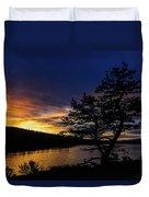 Sunrise Over Hauser Duvet Cover