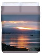 Sunrise Over Kachemak Bay Duvet Cover