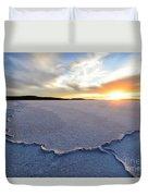 Sunrise Over Lake Gairdner, Duvet Cover