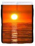 Sunrise Over The Lake 2 Duvet Cover