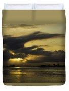 Sunrise Over The Ninth Ward Duvet Cover