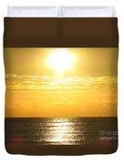 Sunrise Over The Ocean8833 Duvet Cover