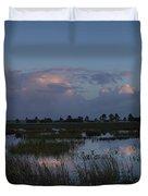 Sunrise Over The Wetlands Duvet Cover