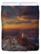 Sunrise Point Imperial North Rim Grand Canyon National Park Arizona Duvet Cover