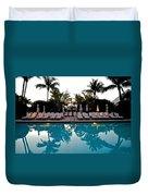 Sunrise Pool Duvet Cover