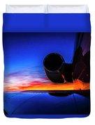 Sunrise Pre Flight Duvet Cover