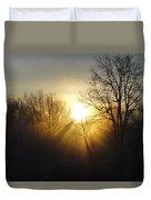 Sunrise Rays Duvet Cover