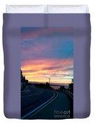 Sunrise Road Duvet Cover