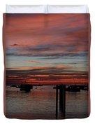Sunrise Rye Nh Duvet Cover
