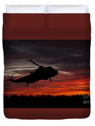 Sunrise Search And Rescue Duvet Cover